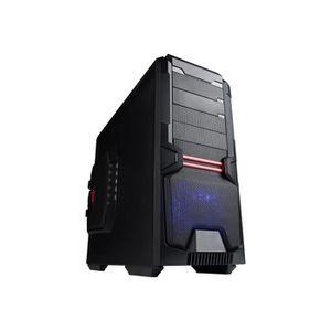 BOITIER PC  HIDITEC XZ1 Tour ATX étendu pas d'alimentation noi