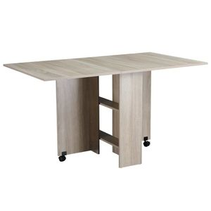 TABLE À MANGER SEULE Table pliante de cuisine salle à manger amovible s