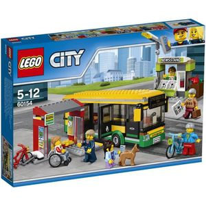 ASSEMBLAGE CONSTRUCTION LEGO® City 60154 La Gare routière