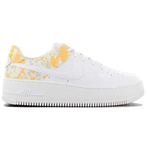 nike air force 1 jaune et blanche
