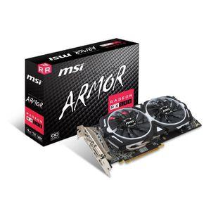 CARTE GRAPHIQUE INTERNE MSI Carte graphique Radeon RX 580 ARMOR 4G OC - 4