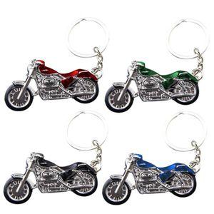 UOOOM 3D M/étal Porte-cl/és Moto Key Chain Motorbike Porte Clefs pour Homme