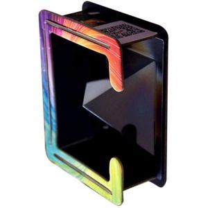 FILM PROTECT. TÉLÉPHONE @M7132 3D Hologramme Pyramide Illusion Projecteur