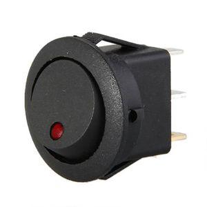 5pcs Set Universel Interrupteur /à Bascule Interrupteur Marche//Arr/êt SPST pour Voiture Bateau Automatique
