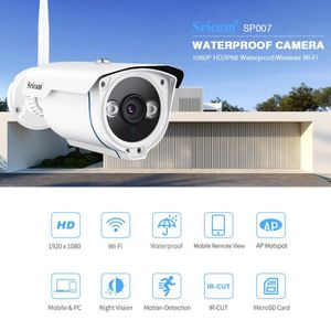 CAMÉRA IP Caméra IP Sans Fil 1080P - Sricam SP007 Wifi 2,0 C