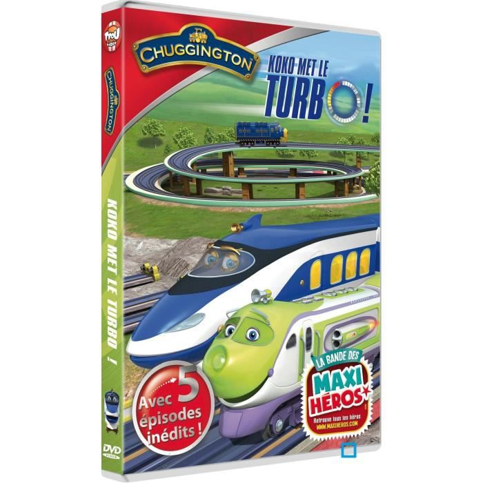 Dvd chuggington koko met le turbo en dvd dessin anim - Chuggington dessin anime ...