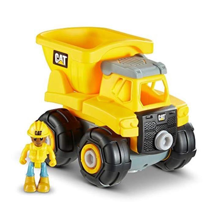 Jeu D'Assemblage FTZ8J Cat Construction Mix and Match Construction de véhicules préscolaires de luxe