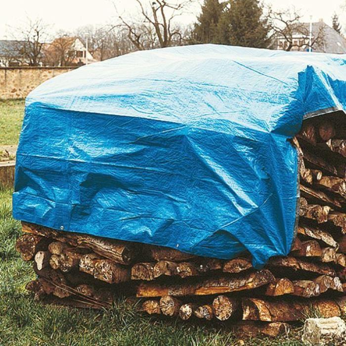 Bâche pour stère de bois - 1,5x6 m