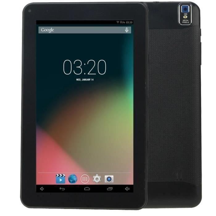 Tablette PC, Android, 9.0 Pouces, 512MB+8GB, Noir
