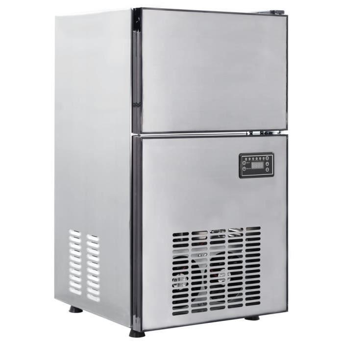 CHEZ-1575Magnifique Haute qualité- Machine à Glaçons Machine pour Glace Réservoir 420 W 50 kg - 24 h