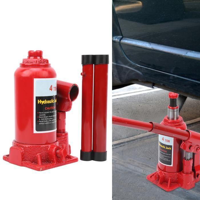 XIO-Cric Hydraulique 4 Tonnes Outil de Réparation de Pneu de Levage de Voiture Professionnel Portable
