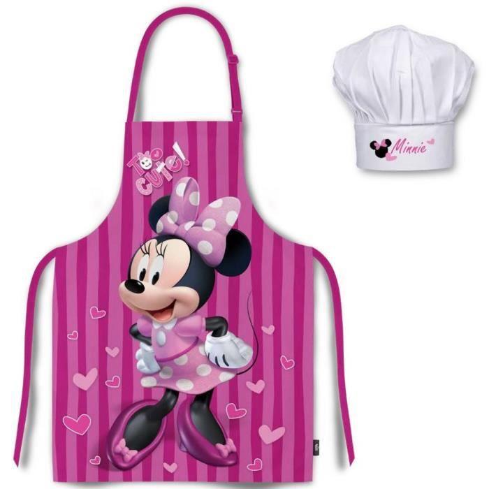 Disney - Ensemble Tablier de cuisine + Toque pour enfant