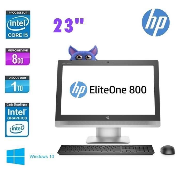 HP ELITEONE 800 G2 AIO TOUT EN UN 23- - GRADE A
