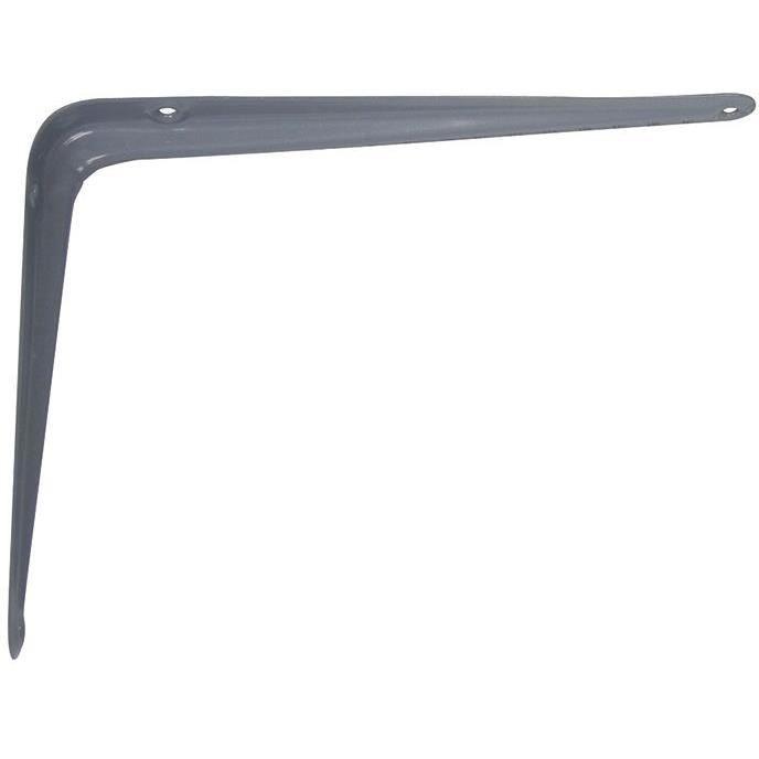 AFBAT Console emboutie - 150x200 mm - Acier gris