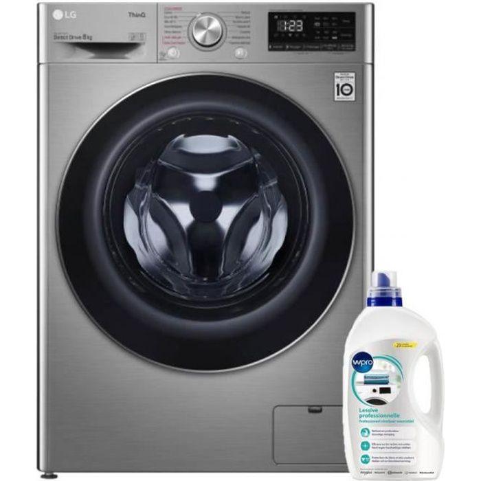LG Lave-linge frontal 8kg 1400trs/min Tambour 59L Wi-Fi Direct Drive Machine à laver hublot