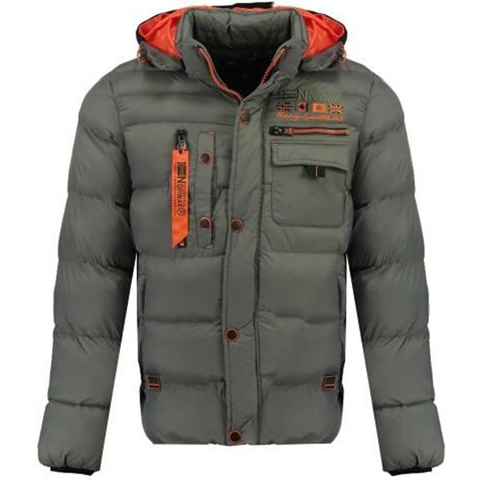 Doudoune Homme Geographical Norway Citernier New Gris Clair