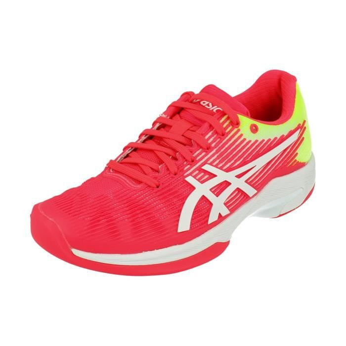 Asics Solution Speed Ff Indoor Femme Tennis Chaussures 1042A094 Sneakers Trainers 702