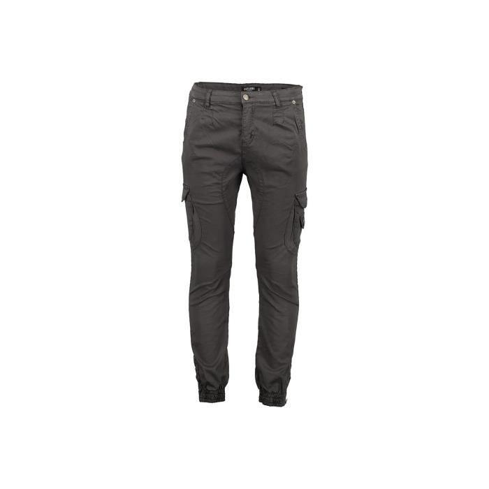 DEELUXE Pantalon cargo à poches GARDEN Charcoal