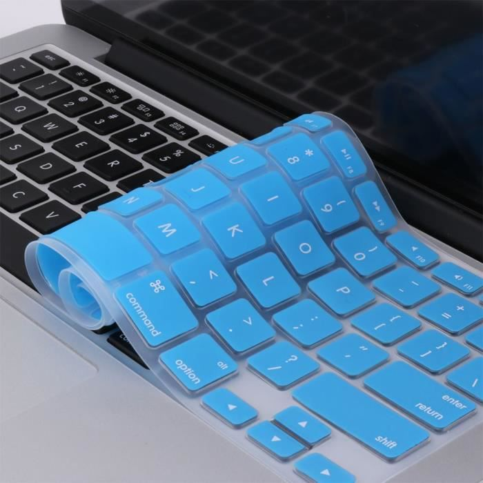 WE Clavier de protection pour Macbook Bleu (Pro 13 / 15 /17)