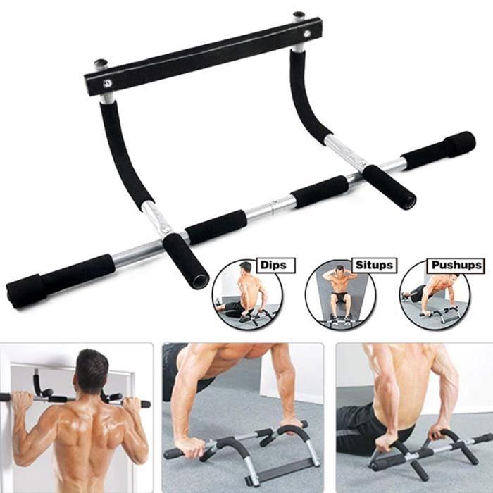 Barre de Traction à porte Barre d'appartement Barre d'Exercice de Traction Gym Entraineur Barre de Fitness