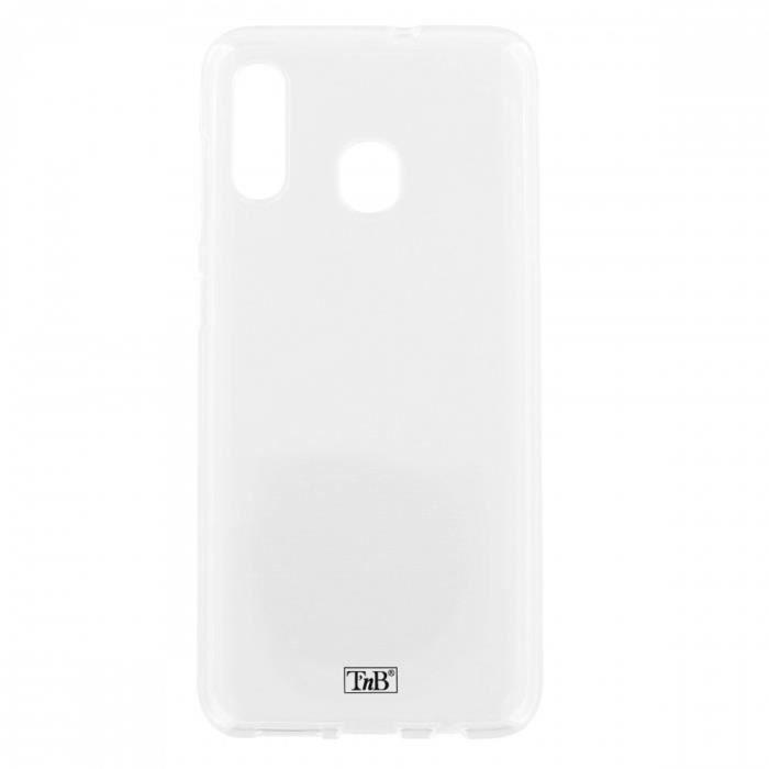 TNB Coque silicone pour Samsung A30 - transparent