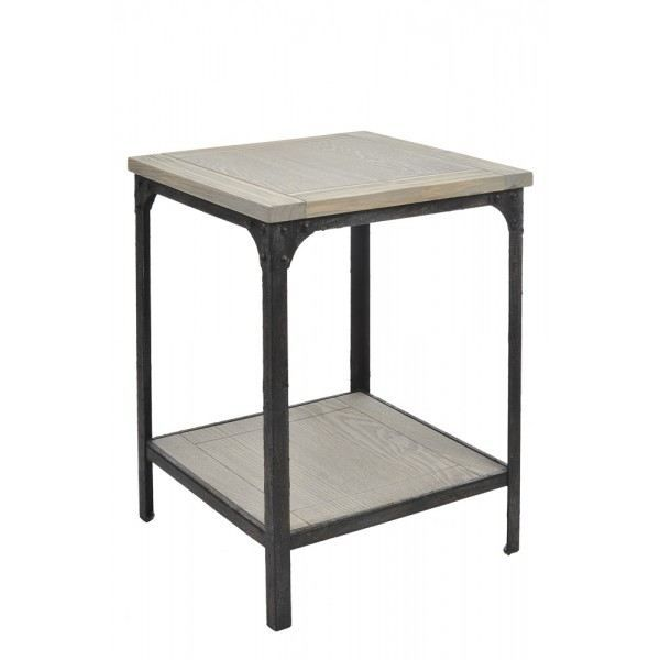 Table d 39 appoint design industriel j line achat vente for Table d appoint moderne