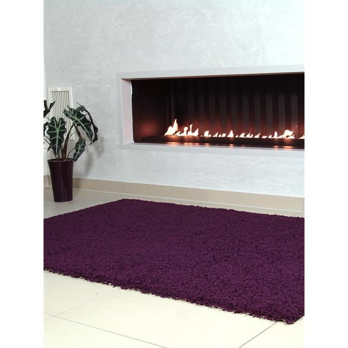 benuta tapis poils longs swirls mauve 200x250 cm achat vente tapis cdiscount. Black Bedroom Furniture Sets. Home Design Ideas