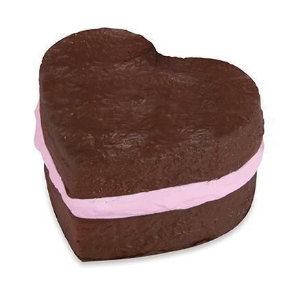 Squishies Cake g/éant pour enfants g/éants Stress Soulager Soulager Squeeze G/âteau au chocolat Squeeze Toy