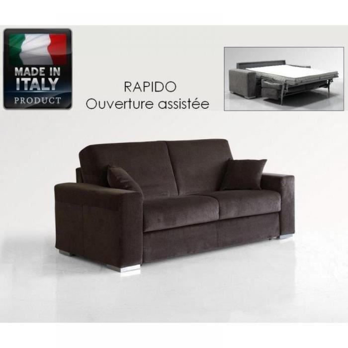le diva canap convertible easy rapido 140 200cm achat vente canap sofa divan. Black Bedroom Furniture Sets. Home Design Ideas
