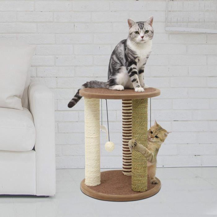 Chat sur Fourrure Coussin Noir et Blanc CAT 8.5 cm x 8.5 cm