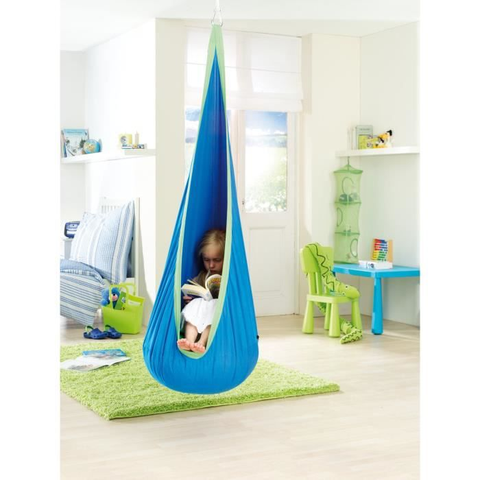 hamac hammock enfant chaise coussin suspendue jardin d 39 enfant si ge ext rieur int rieur achat. Black Bedroom Furniture Sets. Home Design Ideas