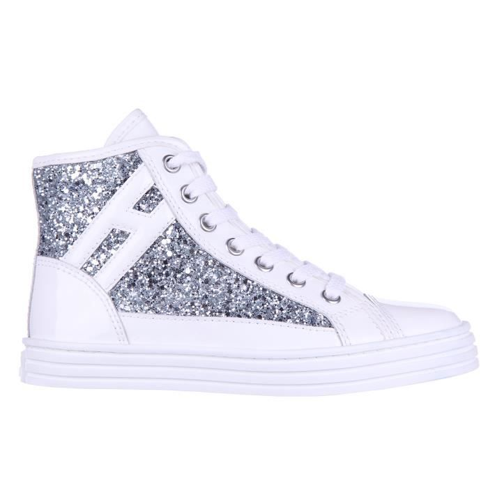Chaussures baskets sneakers filles altecuir r 141 glitter rebel Hogan Rebel