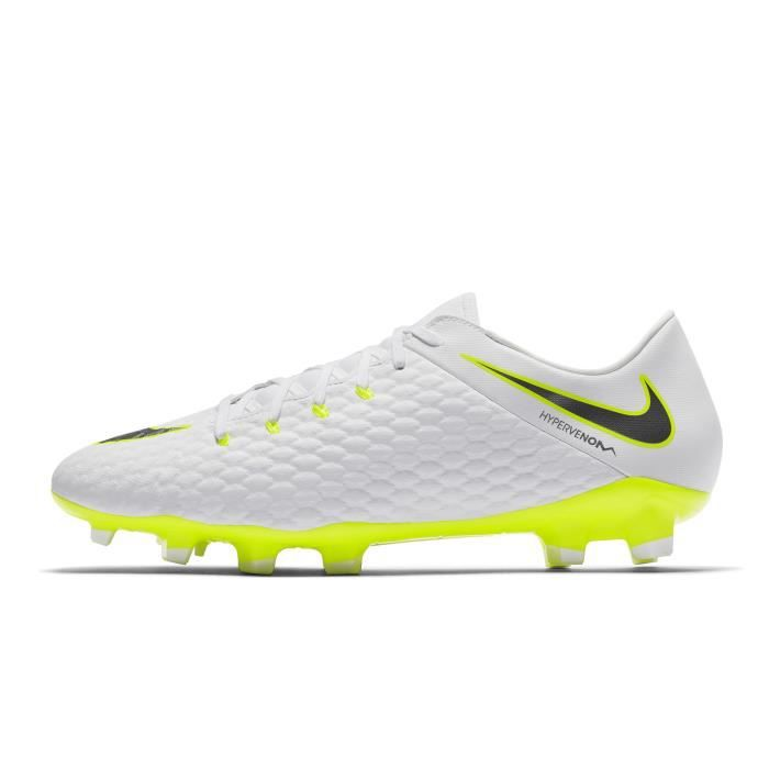 low priced 905a7 090da Chaussures football Nike Hypervenom Phantom III Academy FG Blanc