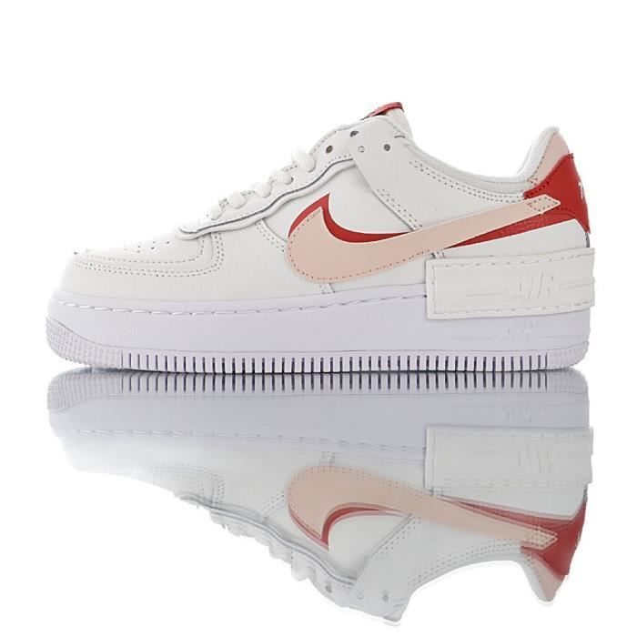 air force 1 shadow rouge