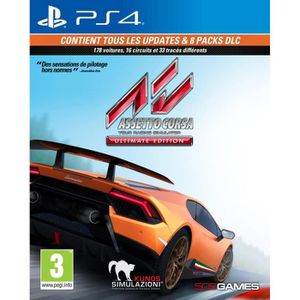 JEU PS4 Assetto Corsa: Ultimate Edition Jeu PS4