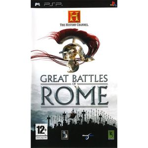 JEU PSP HISTORY CHANNEL GREAT BATTLES ROME / JEU CONSOLE P