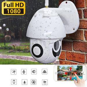 CAMÉRA IP Zoom sans fil 5X HD 1080P extérieure Wifi Sécurité