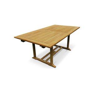 Table de jardin en Teck Grade A - Achat / Vente salon de ...