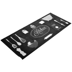 tapis de cuisine 50 x 120 cm achat vente tapis de cuisine 50 x 120 cm pas cher cdiscount. Black Bedroom Furniture Sets. Home Design Ideas