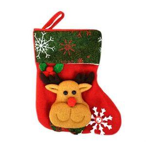 Personnalisé de Santa Sack Sac Cadeau Noël Sac Stocking Famille Enfants Cadeau X3