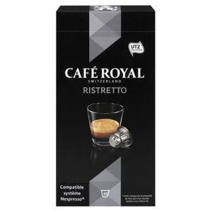 CAFÉ Café Royal - Café Royal Ristretto (lot de 40 capsu
