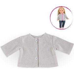 ACCESSOIRE POUPÉE Vêtement pour poupée Ma Corolle : Gilet gris clair