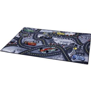 TAPIS CARS Tapis Enfant Circulation Gris 95x133cm