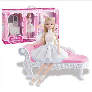 POUPÉE BARBIE - Princesse poupée Habille la fille Barbie