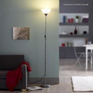 LAMPADAIRE BASIC - Lampadaire métal - Hauteur 177cm