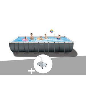 PISCINE Kit piscine tubulaire Intex Ultra XTR Frame rectan
