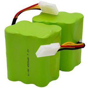 PIÈCE ENTRETIEN SOL  2Pcs - Lot Batterie 4500Mah 7.2V Pour Neato Xv-21