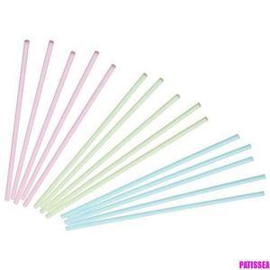 X100 230mm x 5mm ronde en bois lollipop gâteau pop sticks lolly lollies crafts
