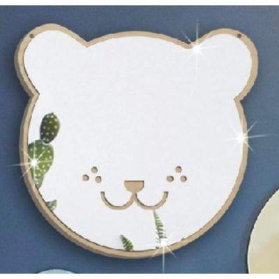 3D Stickers Muraux Miroir, Bébé Acrylique Miroir Muraux Décoratif pour  Chambre d\'Enfant Décor de Chambre Forme d\'Ours