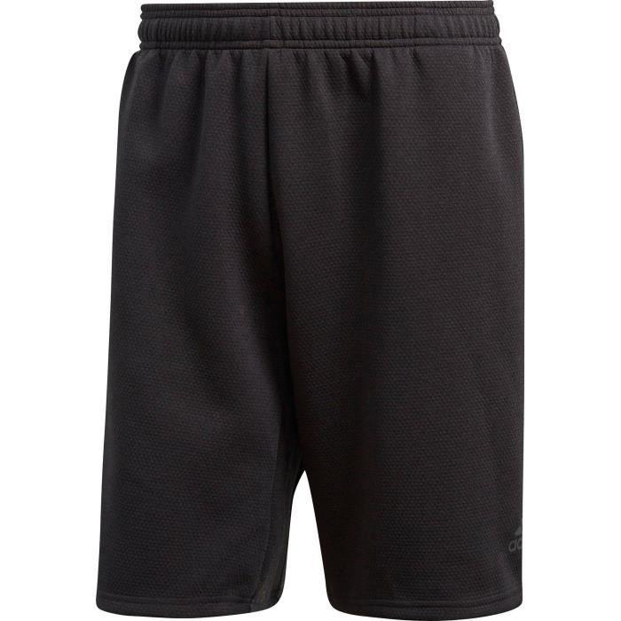 short noir adidas homme